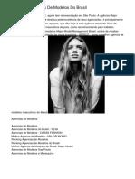 Melhores Agências De Modelos Do Brasil