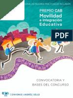 Bases Premio Movilidad
