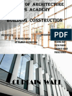Building Construction ( Curtain Wall )