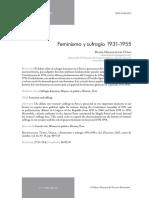 000146.- Miloslavich Tupac, Diana - Feminismo y Sufragio 1931-1955