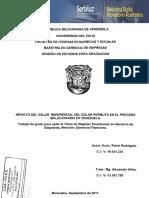 Influencia Del Dolar Permuta en La Inflacion en Venezuela