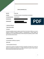 Analisis Expediente Civil