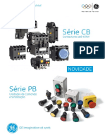 GE Contactores Serie CB - Unidades de Comando