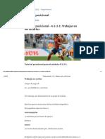 Tutorial Posicional - 4-2-3-1_ Trabajar en Cortes _ Idea de Futbol