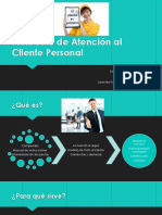 Protocolo de Atención Al Cliente Personal