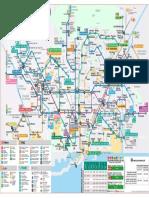 Mapa Metro Barcelona Accesibilidad 2019