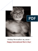 International Men's Day November 19, 2010