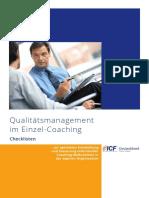 Qualitätsmanagement im Enzelcoaching