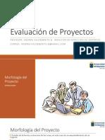 morfología de proyectos