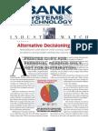 BankSystems&Technology - Alternative Decisioning