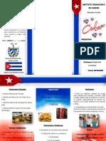 Folleto Cuba