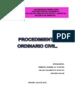 Procedimiento Ordinario Civil
