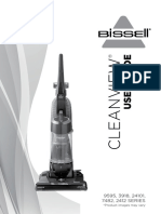 BISSELL User Guide Cleanview Vacuum With OnePass Technology 9595