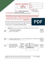 ELEC 2607 Final Exam