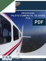 Programa Piloto Comercial Avión