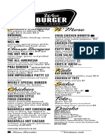 New Menu WesBurger