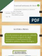 materias primas agroindustriales