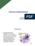 UNMSM 2019 Enf Antihistamínicos