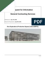 EEPGL General Contracting Services RFI 7.11.18
