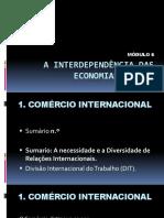A Interdependência Das Economias Atuais