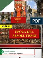 SESION N°1 EL ABSOLUTISMO