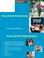 evaluacion psicosocial