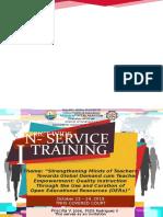 Inset Program