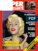 Revista Superinteressante - Ed.010 - 198807 - Em Cartaz - Cinema No Computador