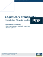 Programa Logistica y Transporte Mad