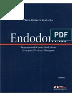 Endodontia Mario Leonardo Vol 1 e 2