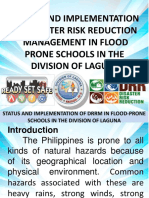 Garcia Status and Implementation of Disaster Risk Reduction