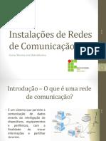 348221-Instalações de Redes de Comunicação -2