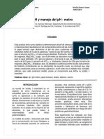 Informe Medición de PH y Manejo Del PH