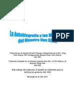 Autobiografia y Maximas Del Maestro Han Shan Libro
