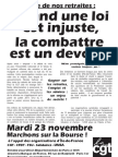 Tract 23 Novembre NB RDV UD