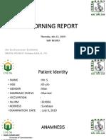 Neurologi Morning Report