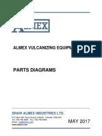 Almex Vulcanizer Parts Diagram Book May 2017