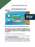 Instalacion V19 Software GANADERO SG Original-1
