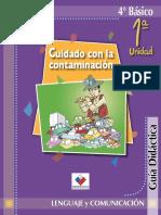 Guia Didactica 4 Básico Lenguaje ATUDA PARA EL MAESTRO