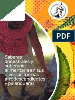 Saberes ancestrales y soberanía alimentaria en sus diversas formas afrodescendientes y palenqueras