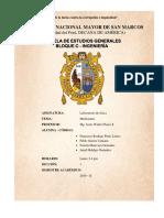 Informe 3 UNMSM Generales