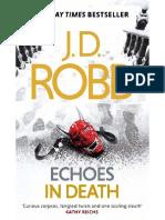 J. D. Robb - Eve Dallas Ante La Muerte - 44 Echoes in Death