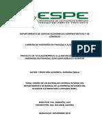 Tipantuña (2014). Departamento de Ciencias Económicas, Administrativas y de Comercio