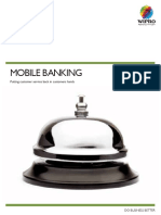 Mobile Banking Flyer
