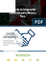 Acuerdo Comercial, México-Perú