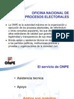 Diapositivas ONPE