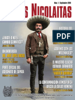 Letras Nicolaitas 2019