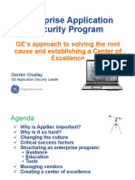 Enterprise Application Security GEs Approach to Solving Root Cause-Darren Challey