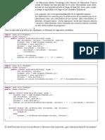 Estudio de caso. Tres soluciones de división entera. Algoritmia.
