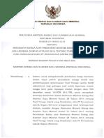 Permen ESDM Nomor 19 Tahun 2019